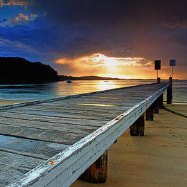 Little Beach Aglow by Paul Svensen