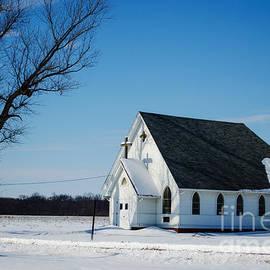 Luther Fine Art - Little Church On The Prairie