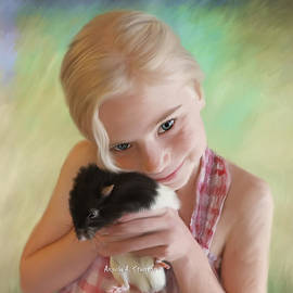 Angela A Stanton - Little Girl and Pet Rat