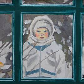 Janet Ashworth - Little Girl in the Snow