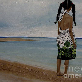Chelle Brantley - Little Girl on the Beach