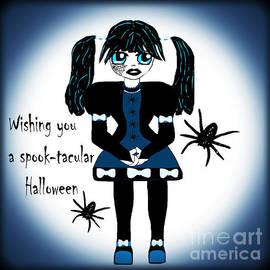 Little Goth Girl Spook-tacular by Eva Thomas
