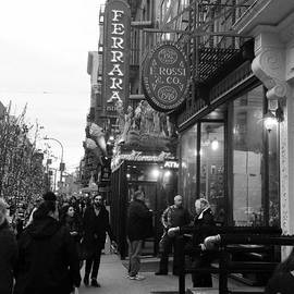 Christy Gendalia - Little Italy in Black and White