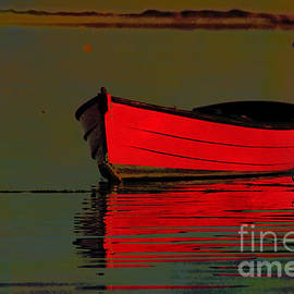 Rene Crystal - Little Red Boat...on Cape Cod Bay