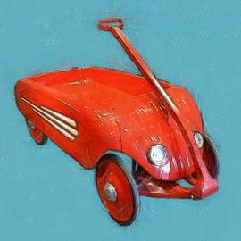 Little Red Wagon by Michelle Calkins