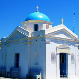 Cimorene Photography - Greek Orthodox Church Mykonos Island Greece