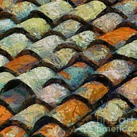 Littoral Roof tiles by Dragica  Micki Fortuna