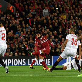 Liverpool Fc V Sevilla Fc - Uefa by Stu Forster
