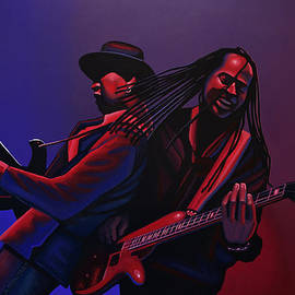 Living Colour Painting by Paul Meijering