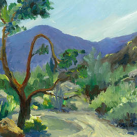 Stately Desert Tree - Spring Commeth by Maria Hunt