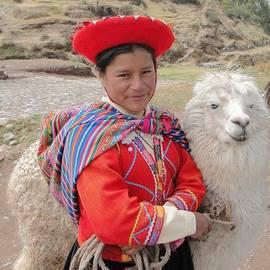 Barbie Corbett-Newmin - Llama lady