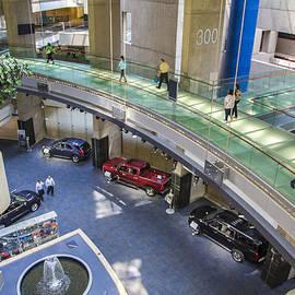 John McGraw - Lobby and walkway of Renaissance Center