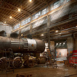Mike Savad - Locomotive - Locomotive repair shop