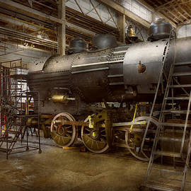 Locomotive - Repairing history by Mike Savad