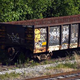Locust Point Gondola Graffiti