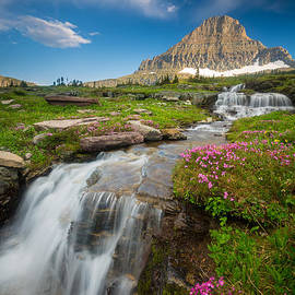 Inge Johnsson - Logan Pass Cascades