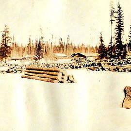 Mavis Reid Nugent - Logging Camp