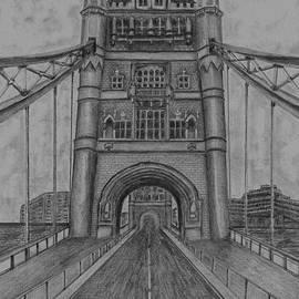 London Tower Bridge by Irving Starr