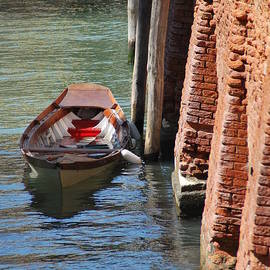 Richard Booth - Lonely Boat in Venice