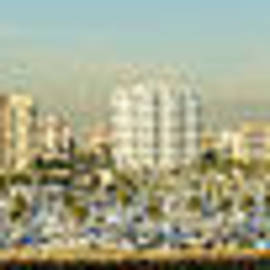 Clear Sky Images - Long Beach California