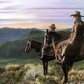 Long Day in the Saddle by Deborah Strategier