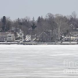 Long Island Frozen Coast I by John Telfer