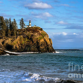 Looking At Cape Disappointment by Robert Bales