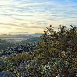 Looking At The Horizon - Santa Rosa Hills by Glenn McCarthy