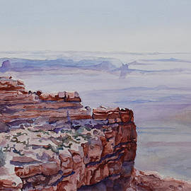 Looking Down From Moki Dugway by Jenny Armitage