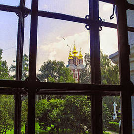 Madeline Ellis - Looking Out - Novodevichy Convent - Russia