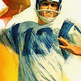 Big 88 Artworks - Los Angeles Rams 1966 Vintage Print