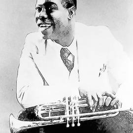 Louis Armstrong by Dean Wittle
