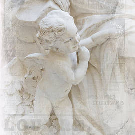 Evie Carrier - Louvre Cherub with Woman