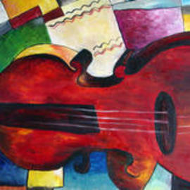 Love and Music Triptych by Dorothy Maier
