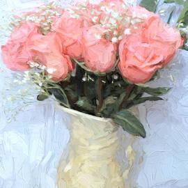 Love Silently - Flower Art by Jordan Blackstone