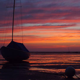Sunrise at Low Tide by Dianne Cowen