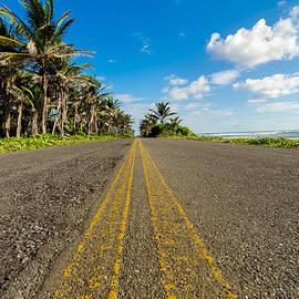 Jess Kraft - Low View of Coastal Road