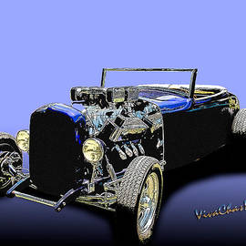 Lowboy Lowbrow 32 Ford Roadster by Chas Sinklier