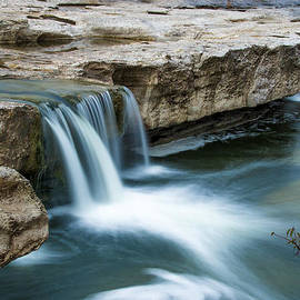 Lower McKinney Falls by Bob Marquis