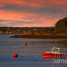 Jerry Fornarotto - Lubec Sunset