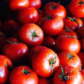 Luscious Red Tomatoes by Kris Hiemstra
