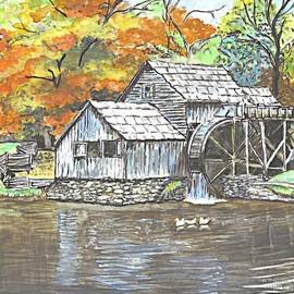 Carol Wisniewski - Mabry Grist Mill in Virginia USA