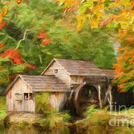 Darren Fisher - Mabry Mill Autumn