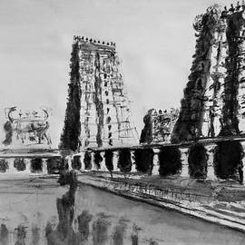 Uma Krishnamoorthy - Madurai Meenakshi temple India
