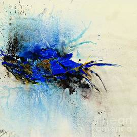 Ismeta Gruenwald - Magical Blue-abstract Art