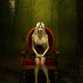 Britta Glodde - Magical red chair