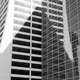 Valentino Visentini - Mahnattan Architecture Black and White