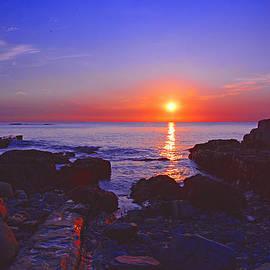 Maine Coast Sunrise by Raymond Salani III