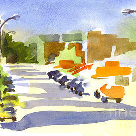 Kip DeVore - Main Street in Evening Shadows