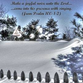 Michael Mazaika - Make a Joyful Noise - Psalm 100.1-2 - From Pickin